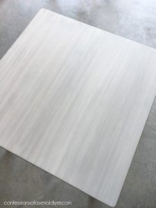 How to white wash a table.