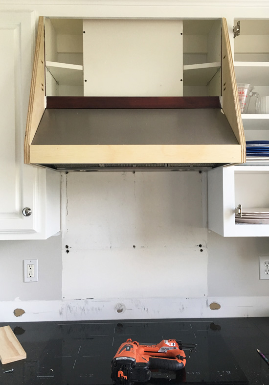 Diy Range Hood Cover Confessions Of A