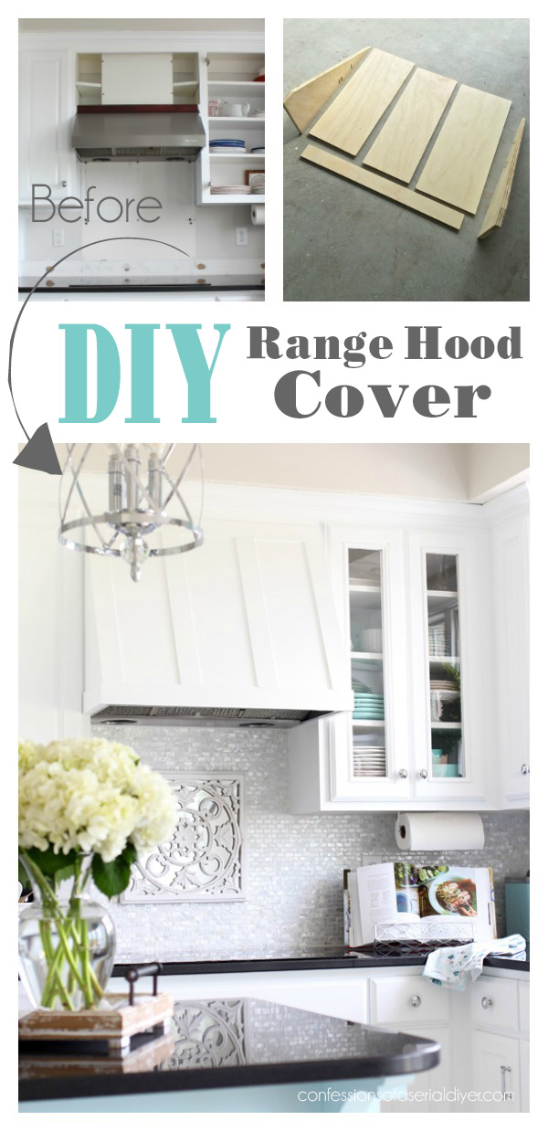 Diy Range Hood Cover Confessions Of A Serial Do It