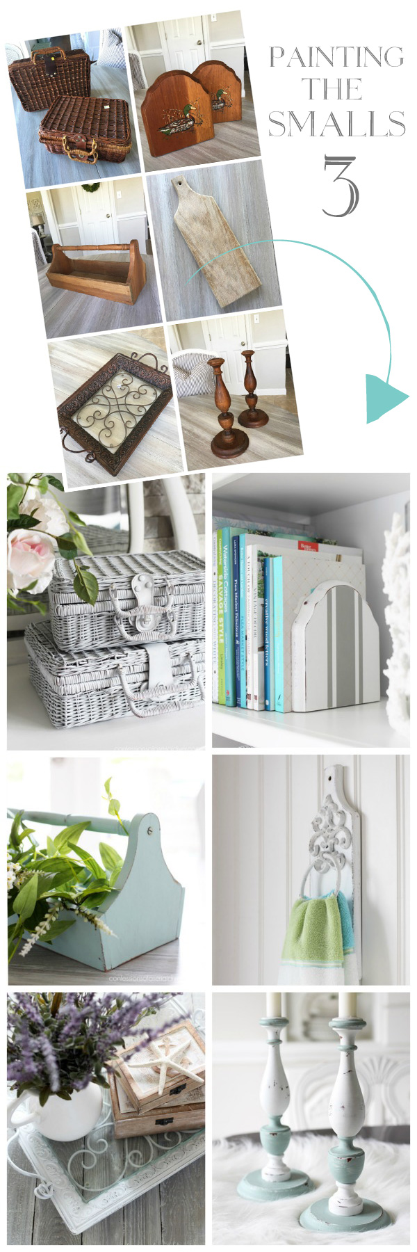 Paint can turn forgotten items into beautiful home decor! confessionsofaserialdiyer.com