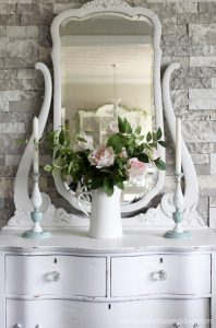 Dated candlesticks get refreshed with chalkpaint from confessionsofaserialdiyer.com