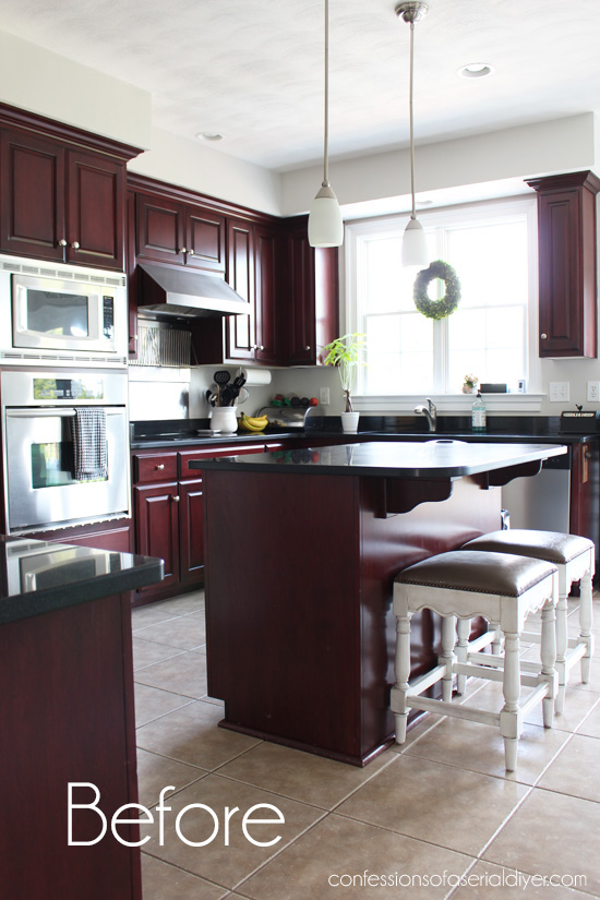 Kitchen Makeover Reveal Confessions Of A Serial Do It Yourselfer