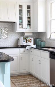 Kitchen makeover from confessionsofaserialdiyer.com