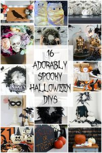 16 Adorably spooky Halloween DIYs!