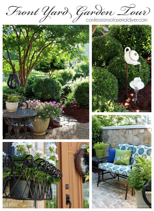 Spring front Garden Tour