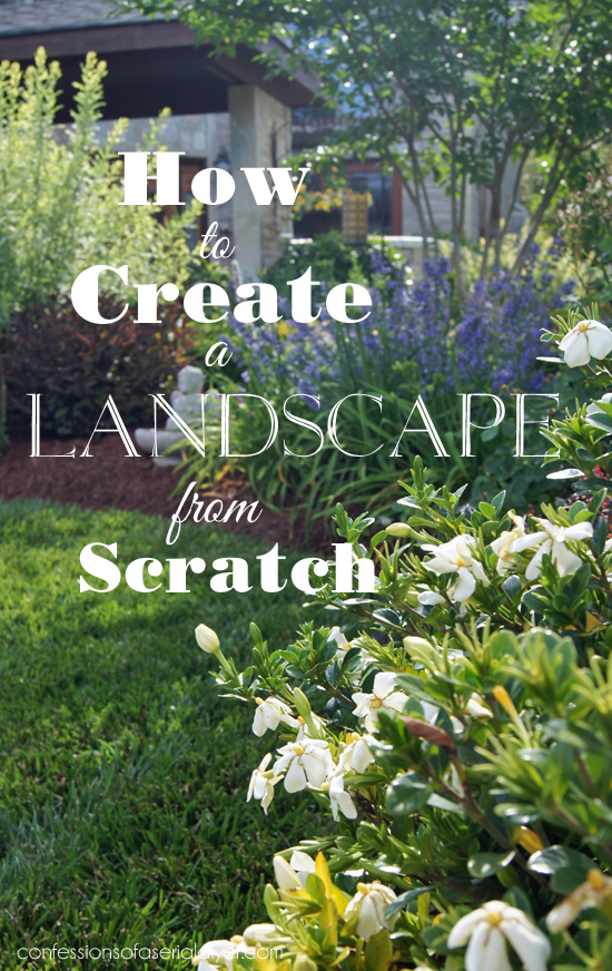How to Create a Landscape from Scratch