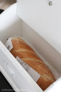 Breadbox with French Graphics from confessionsofaserialdiyer.com