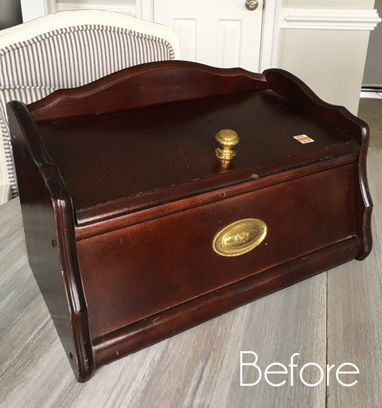 $4 Breadbox Makeover