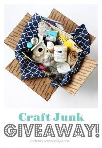 October 2018 Craft Junk Giveaway!!