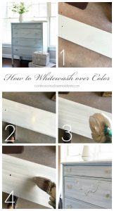 How to whitewash furniture