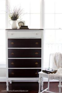 Petite Antique Dresser Update