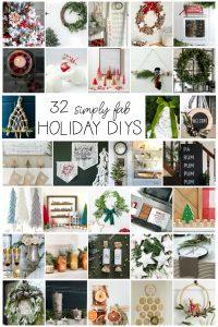 32 Holiday DIY Ideas