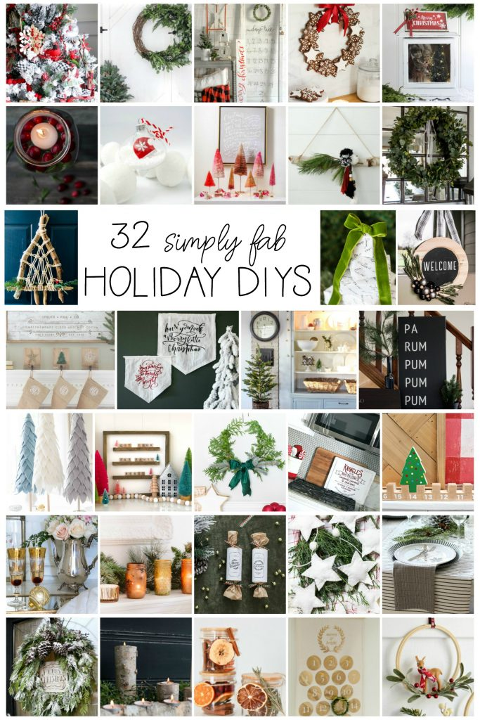 32 Holiday DIY Ideas