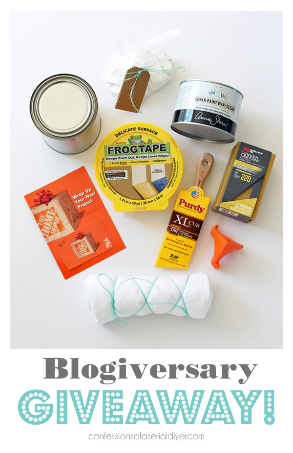 Six Year Blogiversary Giveaway!!