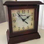 Clock turned Holiday Shadow Box