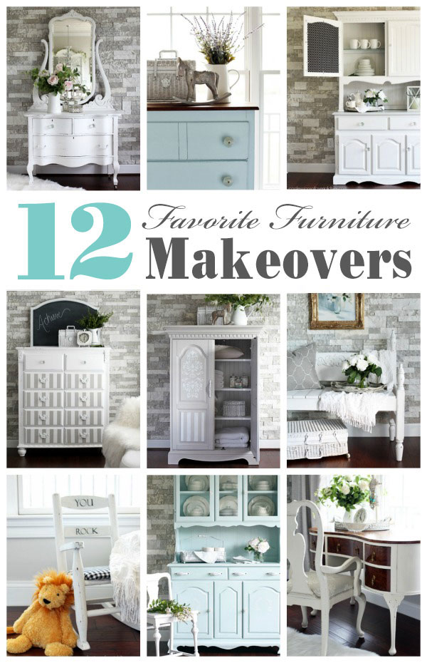 Top 12 Thrift Store Top 12 Thrift Store Furniture Makeovers of 2018 from confessionsofaserialdiyer.com