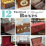 12 Thrifted & Upcycled Box Makeovers