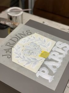 Stenciled add a personal touch to any project.