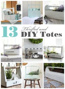 13 DIY and made over totes