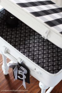 How to line a suitcase with fabric.