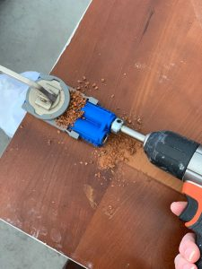 Kreg Jig is perfect for connecting two pieces at 90º angles.