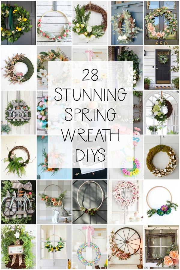 28 Spring Wreaths