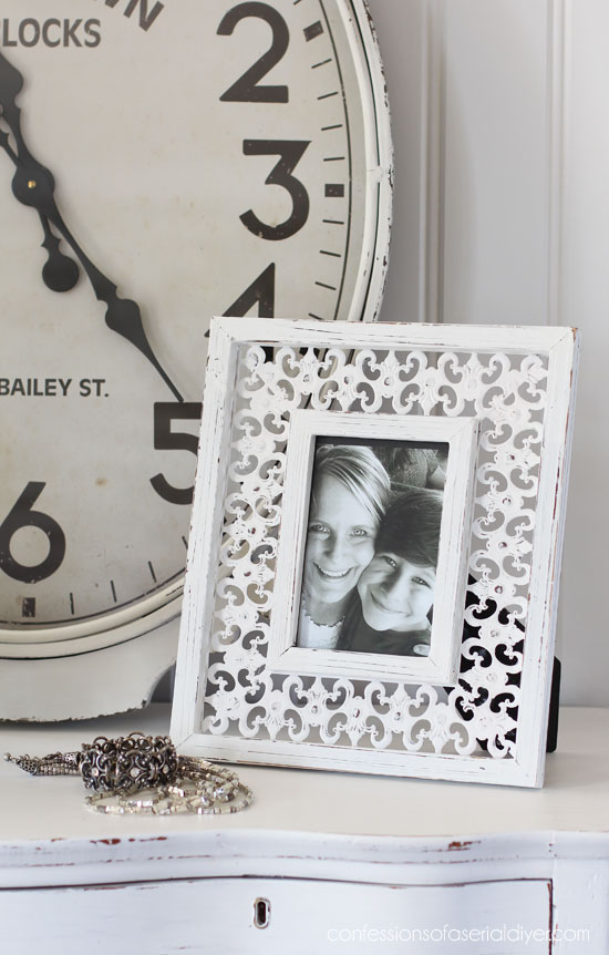 Visit thrift stores to find frames that you can paint!