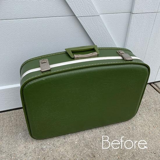 Vintage Suitcase Makeover #2
