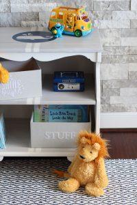 Ethan Allen bedside table makeover from confessionsofaserialdiyer.com