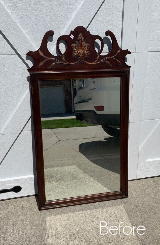 $6 Mirror Makeover