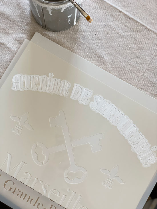 How to stencil and make it look hand painted