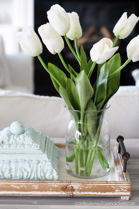 Tulips from Hobby Lobby