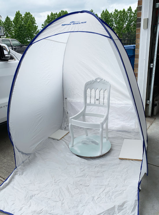 Medium spray shelter from HomeRight