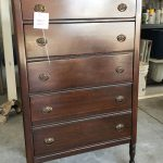 Antique Dresser Updated with Transfer