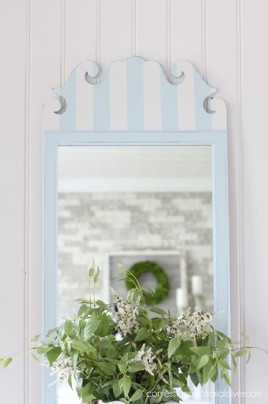 Haint Blue Mirror