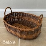 Thrift Store Basket Makeover