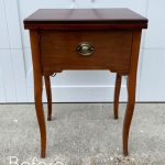 Sewing Machine Table Makeover with Transfer