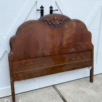 Antique Headboard turned Bench