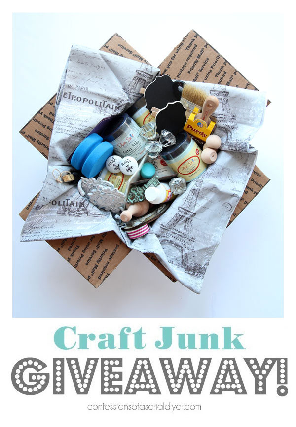 Craft Junk Giveaway July 2019!!