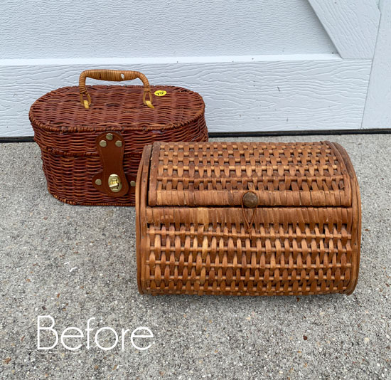 Thrifty Basket Makeovers