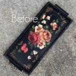 $3 Thrift Store Tray Repurposed