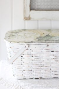 Picnic basket with transfer