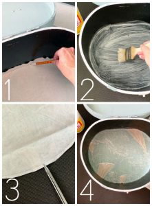 How to Line a Hatbox from confessionsofaserialdiyer.com