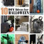 10+ Simple DIY Halloween Ideas
