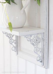 Cabinet Door shelf from confessionsofaserialdiyer.com