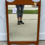 DIY Faux Etched Christmas Mirror