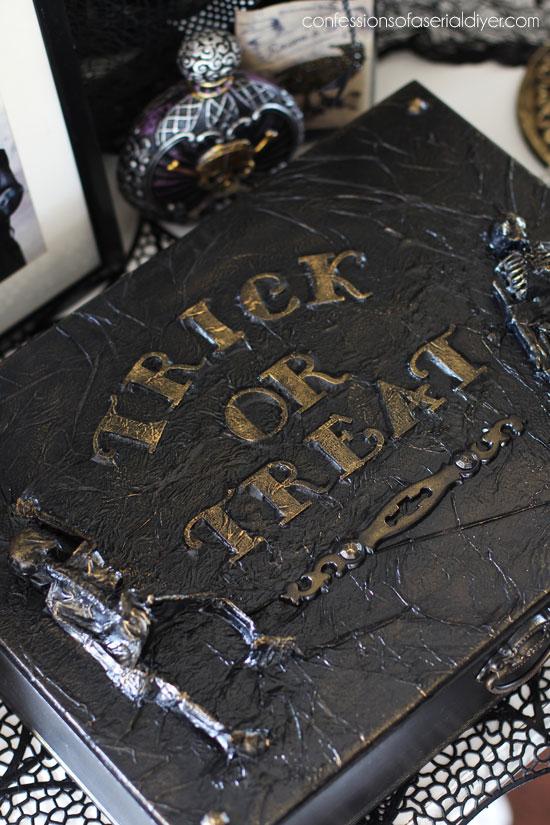 DIY Halloween Spooky Box