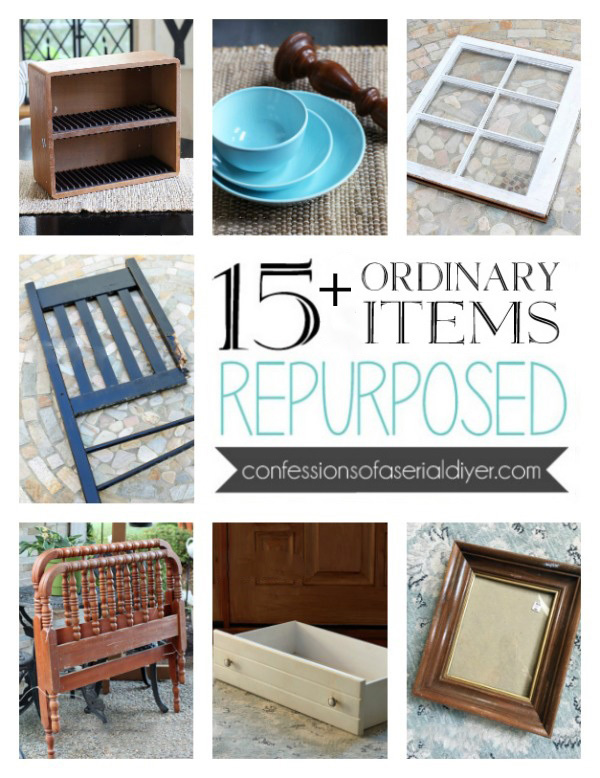 15+ Ordinary Items Repurposed