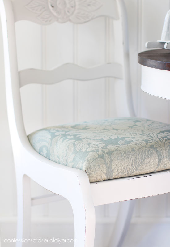 How to replace chair cushions