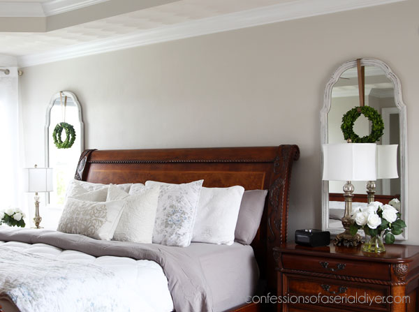 Bedside wall mirrors